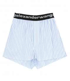 ALEXANDER WANG - COTTON BOXER SHORT