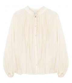 CLOTHES - COTTON SILK SHIRT