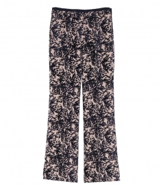 CLOTHES - TAPESTRY FLARED TROUSERS
