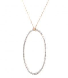 JUMBO ECLIPSE DIAMOND ON CHAIN