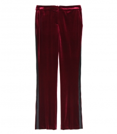 CLOTHES - SMOCKING VELVET PANTS