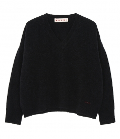 KNITWEAR - LS V NECK SWEATER