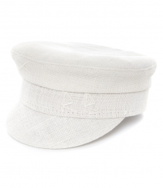BAKER BOY HAT IN WHITE