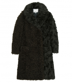 COATS - FAUX SHEARLING COAT