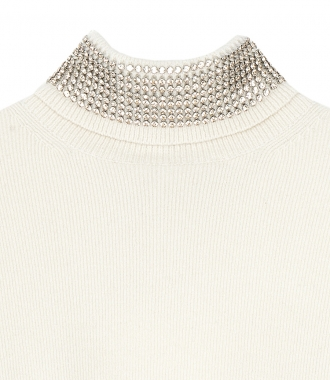 TURTLENECK PULLOVER WITH CRUSTAL