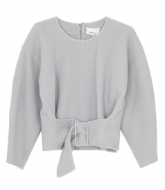 CLOTHES - LS PULLOVER W BELT