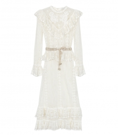 ZIMMERMANN - ALLIA CROCHET LONG DRESS
