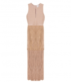 CLOTHES - DRESS GOLD BARE