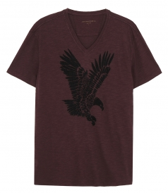T-SHIRTS - EAGLE V NECK TEE