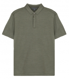 JOHN VARVATOS - REGULAR FIT SS MONTAUK POLO