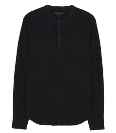 T-SHIRTS - UNION LS WAFLE HENLEY