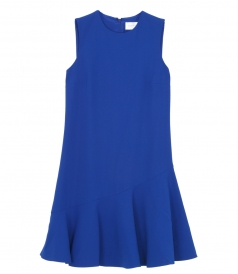 DRESSES - FLOUNCE HEM SHFT DRESS