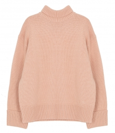KNITWEAR - RELAXED FUNNEL NECK JUMPER