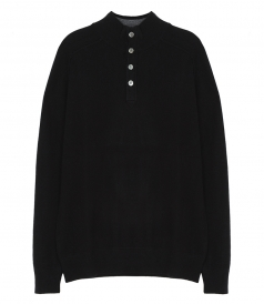 CLOTHES - CASHMERE HIGH NECK PULLOVER