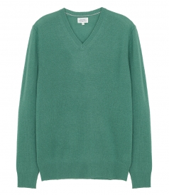 CLOTHES - LIGHT CASHMERE V NECK PULLOVER