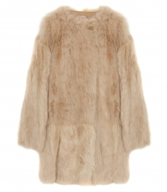 COATS - LONG FUR COAT
