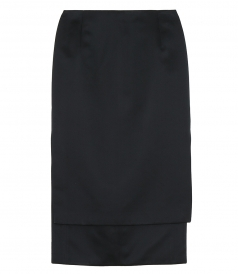 SKIRTS - STEP HEM PENCIL SKIRT