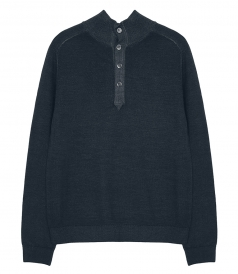 CLOTHES - MERINOS HIGH NECK PULLOVER
