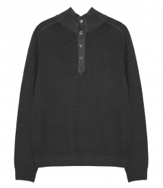 KNITWEAR - MERINOS HIGH NECK PULLOVER