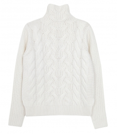 KNITWEAR - CABLE CRWNECK