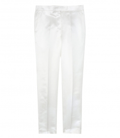 CLOTHES - STRAIGHT LEG SATIN PANTS