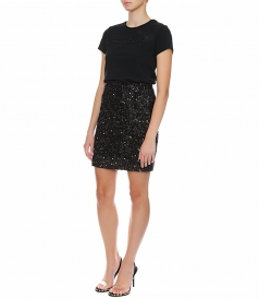BANDEAU PAILLETTES MINI SKIRT
