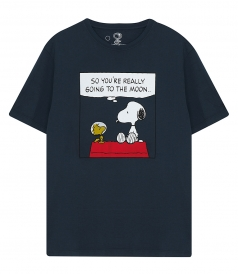 T-SHIRTS - WOODSTOCK & SNOOPY T-SHIRT