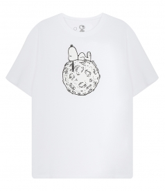 T-SHIRTS - SNOOPY MOON T-SHIRT