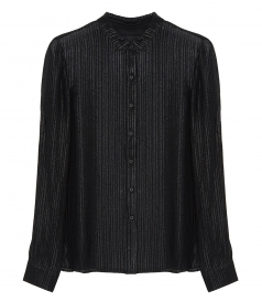 CLOTHES - BLYTHE PLEATED SHIMMER SHIRT