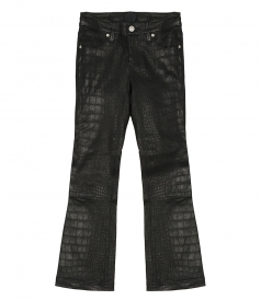 CLOTHES - KIKI CROPPED STRAIGHT-LEG TROUSERS