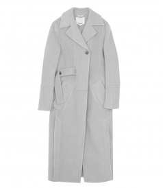 CLOTHES - WOOL MODERN COAT