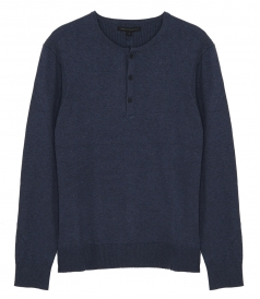 CLOTHES - PROVO LS YAK HENLEY