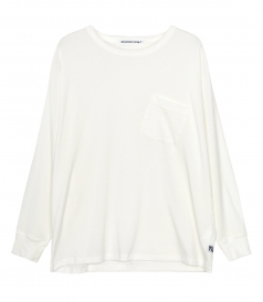 T BY ALEXANDER WANG - VINTAGE COTTON JERSEY L/S