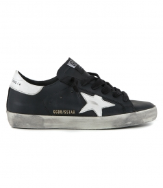 SHOES - BLACK WHITE SUPERSTAR SNEAKERS