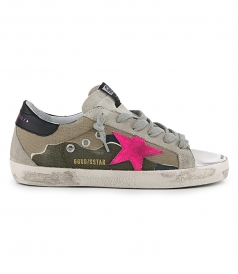 SHOES - CAMOUFLAGE CANVAS SUPERSTAR SNEAKERS