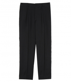 FORTE FORTE - PIQUET SMOCKING PANTS