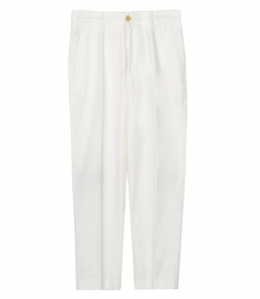 CLOTHES - TAPERED VELVET TROUSERS