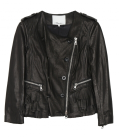 3.1 PHILLIP LIM - MOTORCYCLE LEATHER JACKET