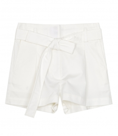 CLOTHES - BELTED HIGHT WAIST SHORTS