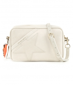 BAGS - STAR BAG WITH SHOULDER STRAP MADE OF PEBBLED LEATHER