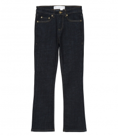CLOTHES - KICK FLARE JEANS IN RAW DENIM