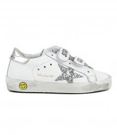 SHOES - GLITTER STAR OLD SCHOOL SNEAKERS