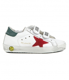 SHOES - RED STAR OLD SCHOOL SNEAKERS