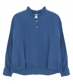 SHIRTS - SAND WASHED FLUID SHIRT