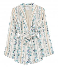 CLOTHES - JACQUARD BELTED JACKET
