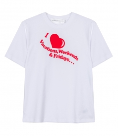 CLOTHES - I LOVE WEEKENDS T-SHIRT