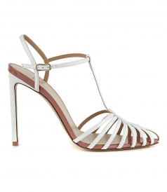 SANDALS - ANKLE STRAP STILETTO SANDALS
