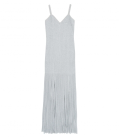 CLOTHES - LUREX RIBBON FRINGE DRESS