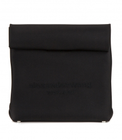 RUNWAY SATIN LUNCH BAG CLUTCH