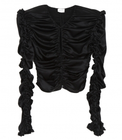 CLOTHES - KONYA BLOUSE IN BLACK